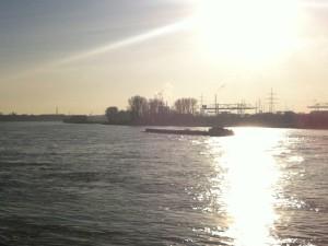 Heimatgefühle und Entspannung : Home is where the Rhine is