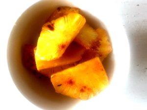 Ofen-Ananas : Sommerlich, gesund und lecker