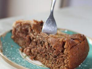 Wunderbarer Apfelkuchen – vegan, vollkornig und ohne weißen Zucker