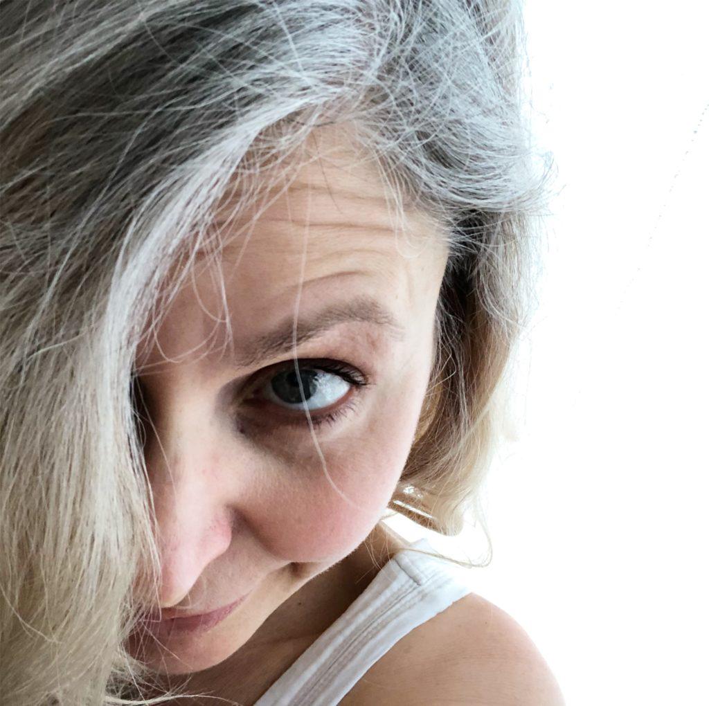 Graue Haare rauswachsen lassen - ein Zwischenfazit
